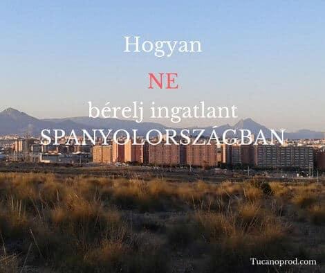 Spanyol lakásbérlés