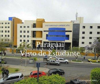 Paraguai Visto de Estudante
