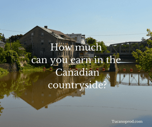 how much can you earn in Canada?