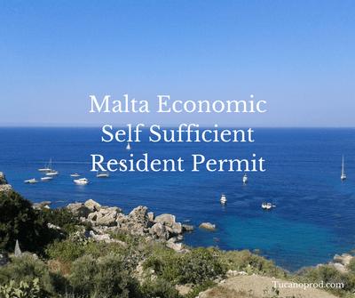 Malta economic self sufficient resident status