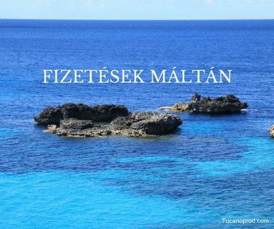 Fizetések Máltán