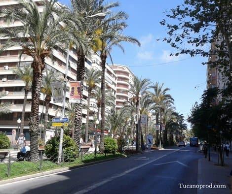 Alicante lakásbérlés