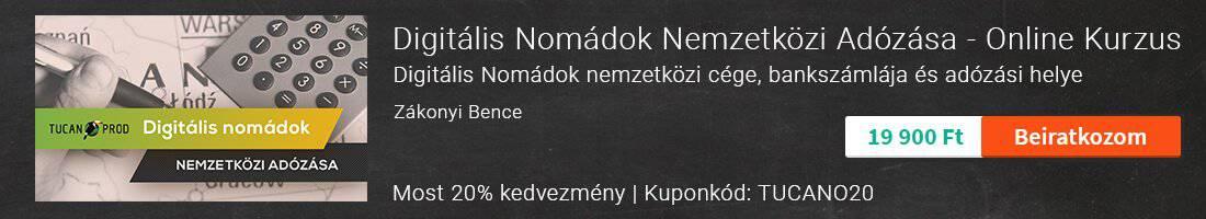 Digitális Nomádok Adózása